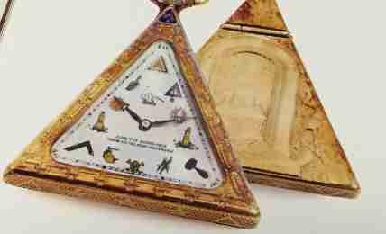古い金時計、潰す?潰さない?